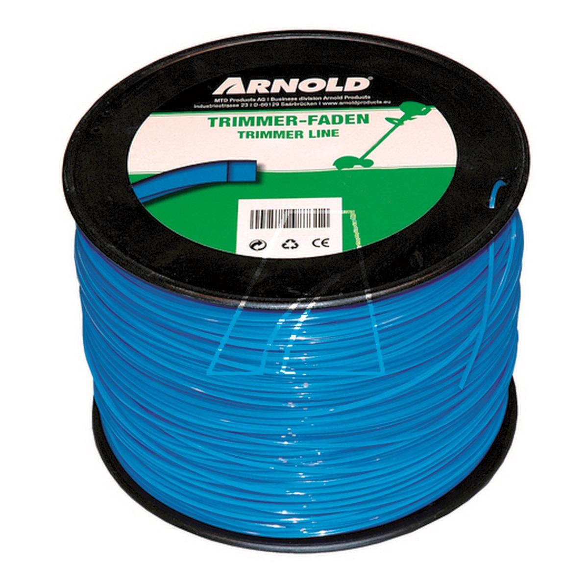 Arnold struna (čtvercový průřez) do vyžínače 498m/1,6 mm (role)