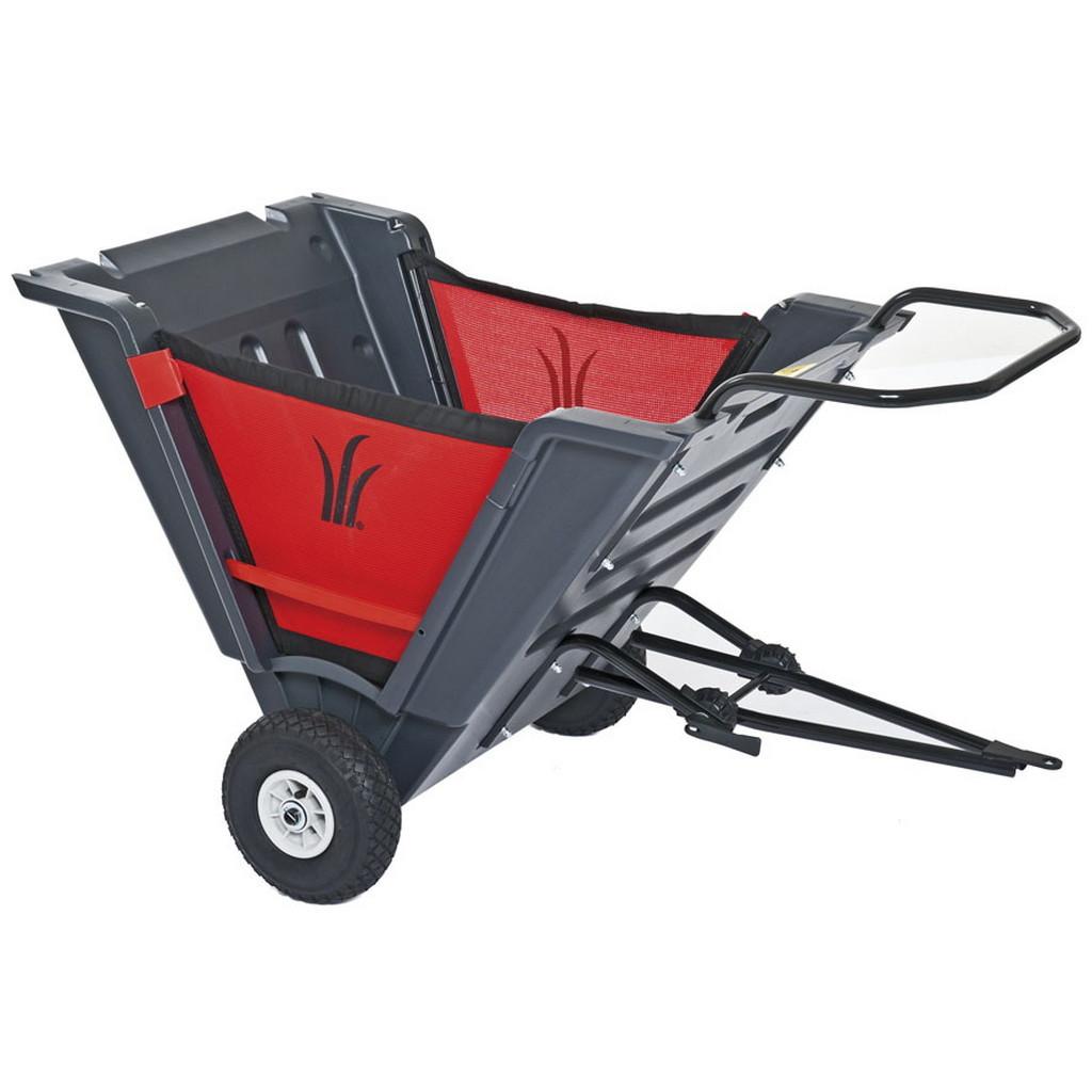 MTD Skládací tažený vozík za traktory s tažným zařízením, nosnost 50 kg, objem 150 l