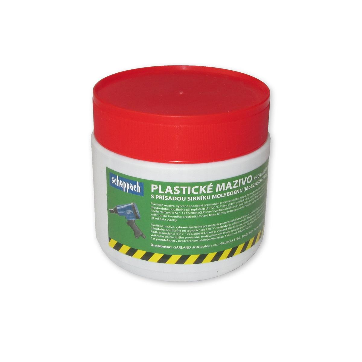 Scheppach Vysokoteplotní a vysokotlaké plastické mazivo pro pneumatické nářadí