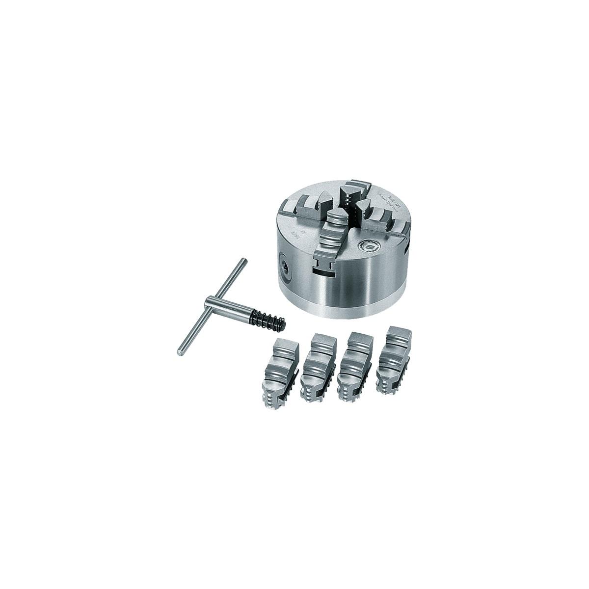 Scheppach čtyřčelisťové sklíčidlo 125 mm (4ks)