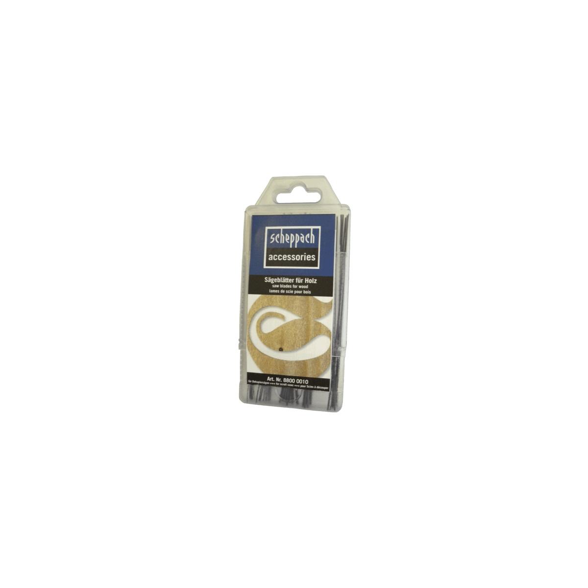 Scheppach Plátky pro lupínkové pily (box 5 x 12 ks)