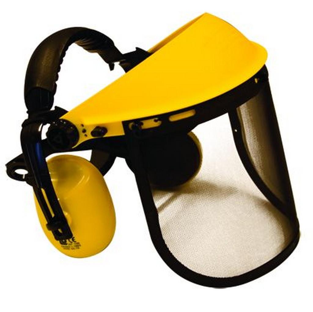 Eurogarden Obličejový štít se sluchátky