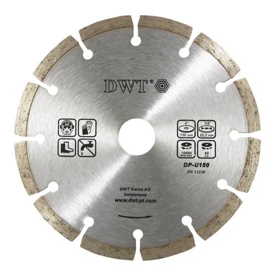 DWT diamantový segmentovaný kotouč 115 mm (železobeton, cihly)