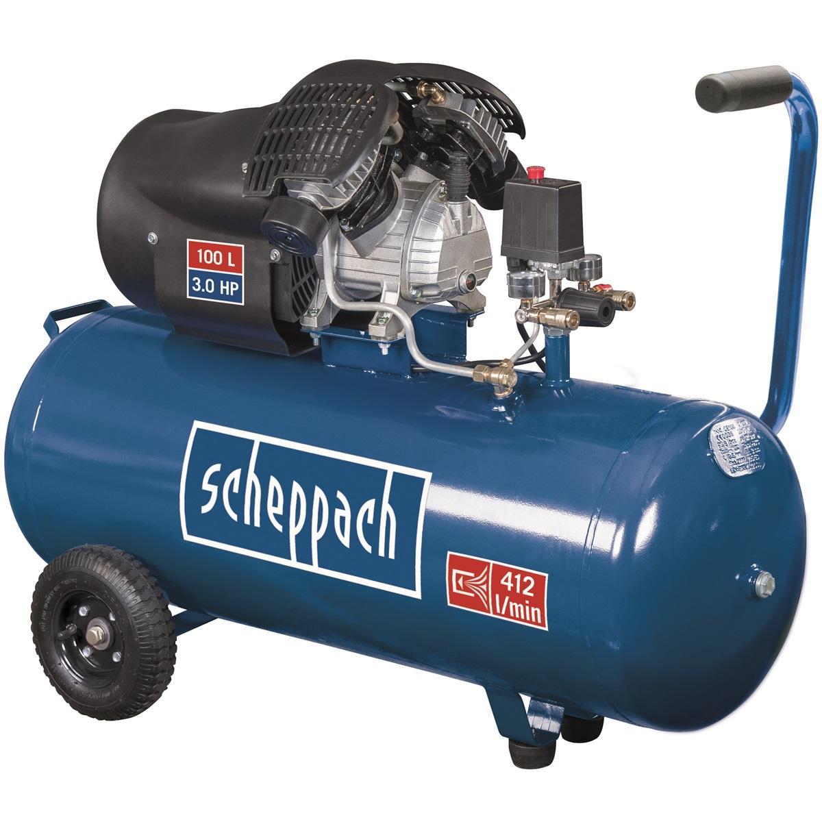 Scheppach kompresor HC 120dc olejový 10b