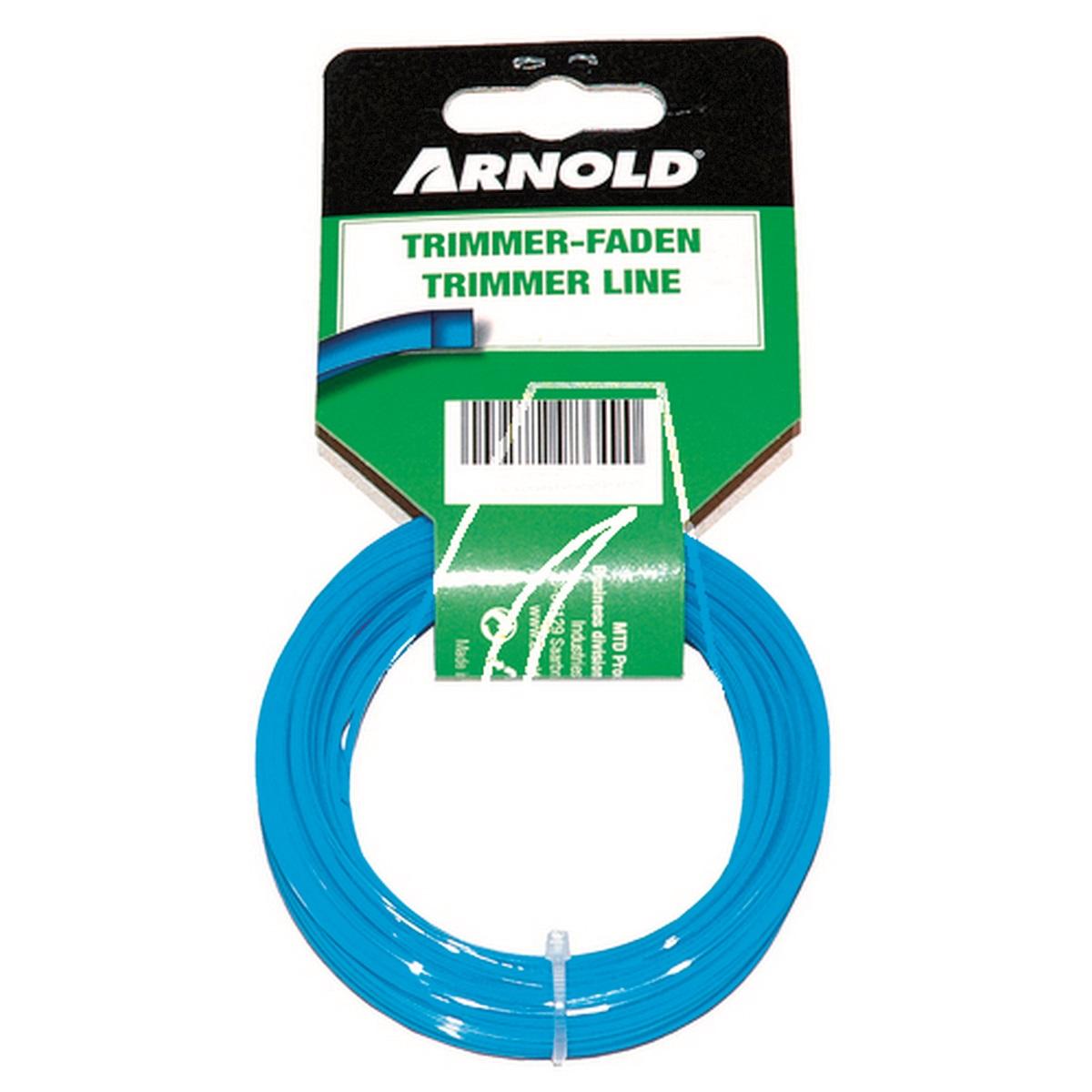 Arnold struna (čtvercový průřez) 15 m/2,4 mm (cívka)