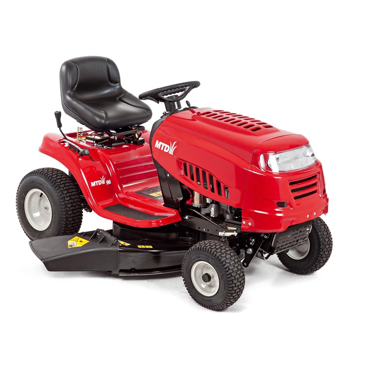 MTD 96 zahradní traktor s bočním výhozem + sestavení + příprava k provozu + servis EXTRA