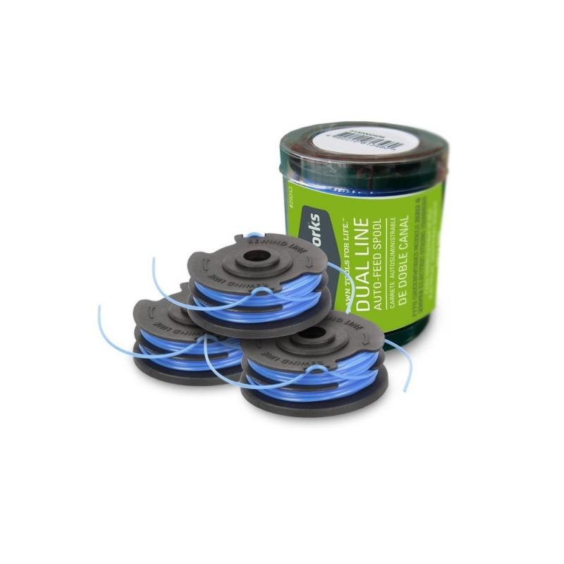 Greenworks cívka struny pro vyžínače 40 V (set 3 ks)