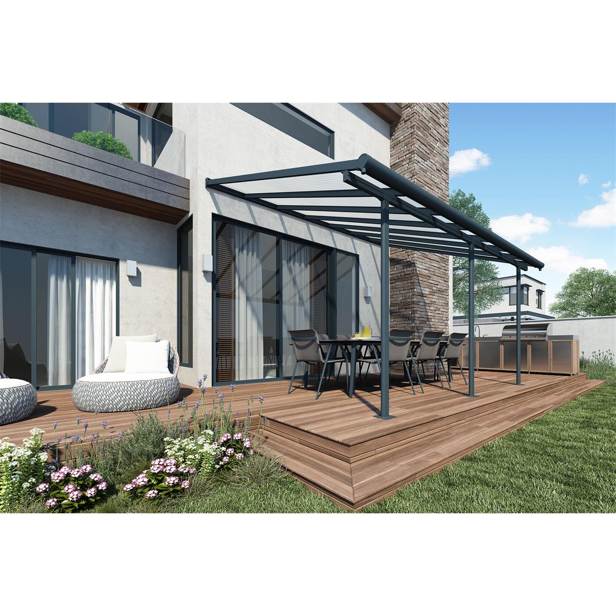 sierra 4200 ed 3 x 4 25 hlin kov montovan pergola garland s r o. Black Bedroom Furniture Sets. Home Design Ideas