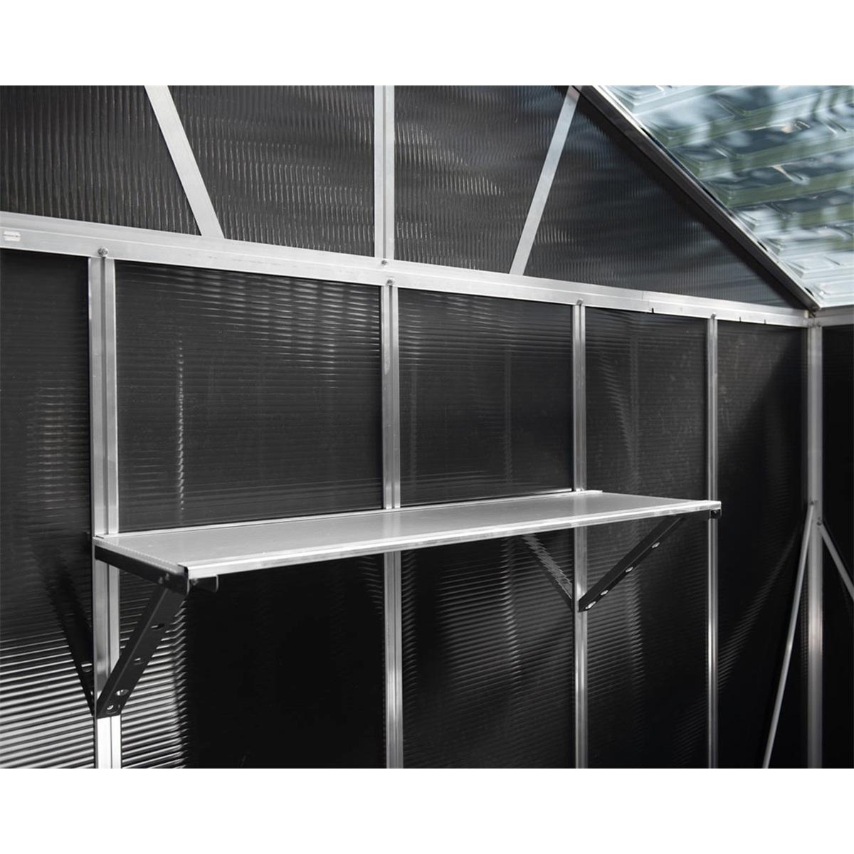Palram Skylight Utility Shelf praktická závěsná police pro domky série Yukon 11