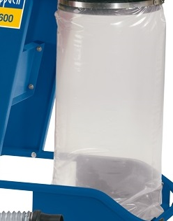 Scheppach vak plastový na piliny pro DC 12 / HA 1600 / HD 12