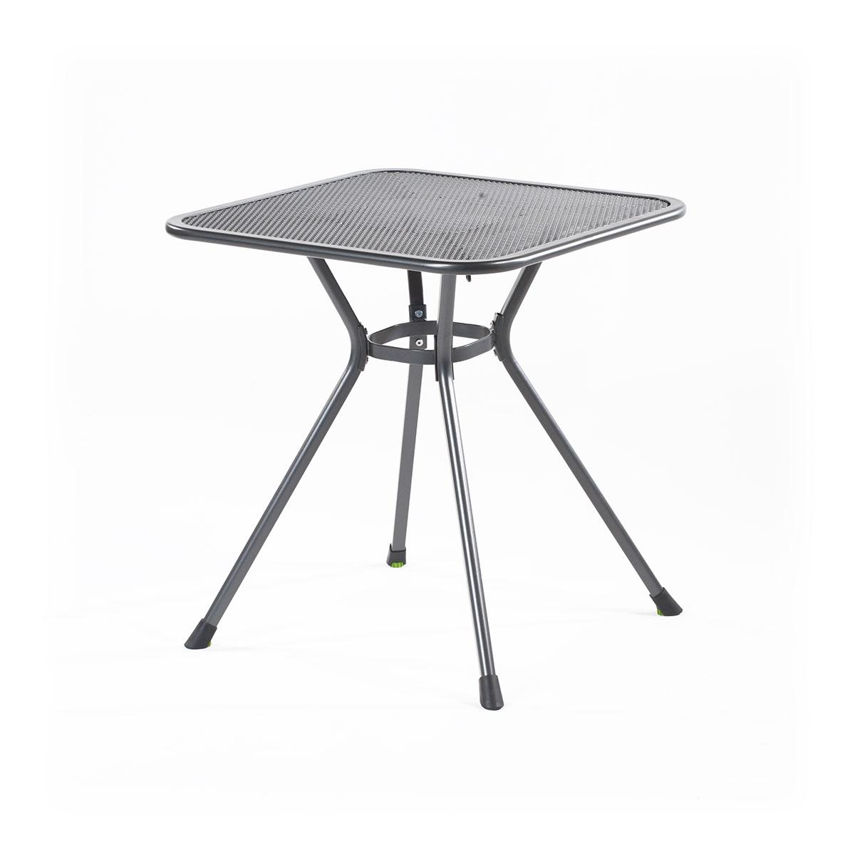 MWH Tavio 70 malý stůl z tahokovu 70 x 70 x 74 cm