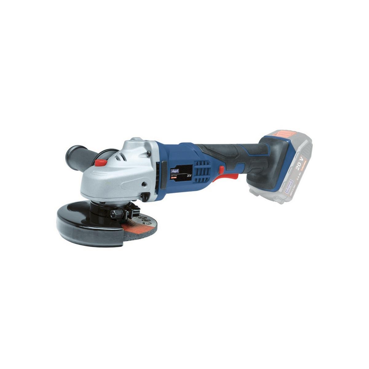 Scheppach CAD115-20Li aku 20 V úhlová bruska 115 mm