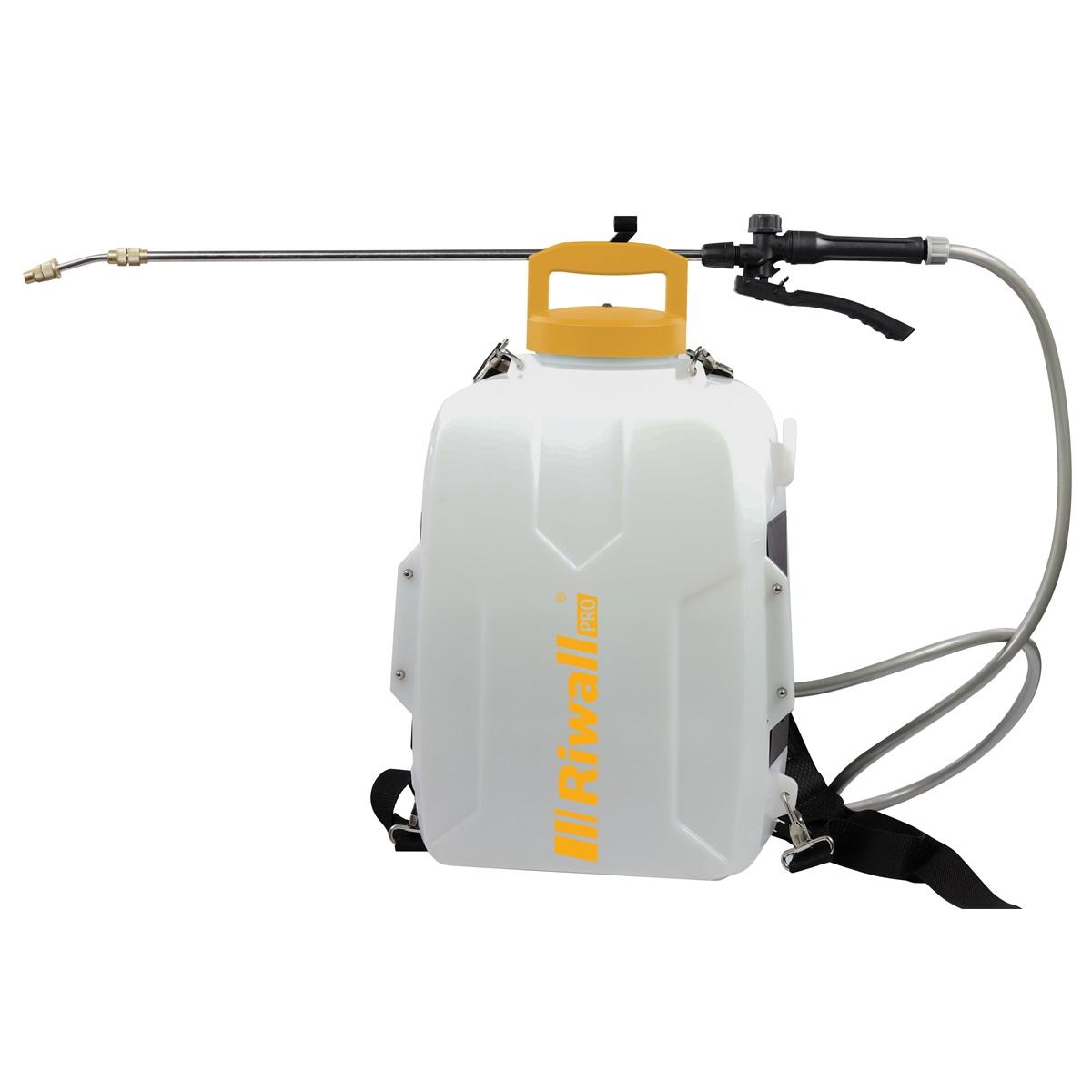 Riwall PRO RAS 1220 SET akumulátorový postřikovač (včetně  20 V + 2Ah baterie + nabíječka