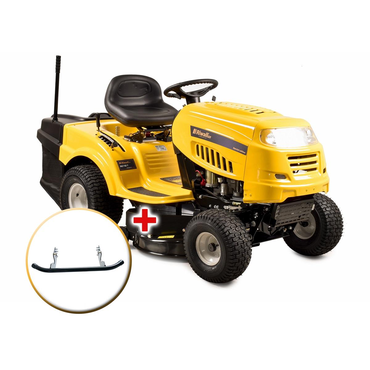 Riwall PRO RLT 92 T zahradní traktor + sestavení + příprava k provozu + servis EXTRA
