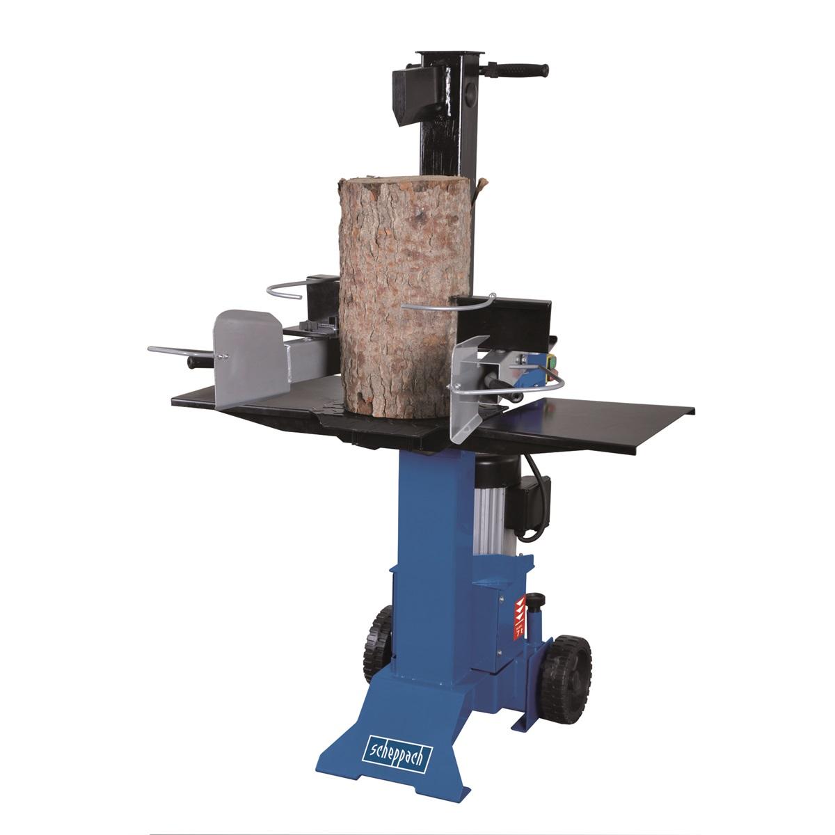 Scheppach HL 730 vertikální štípač na dřevo 7t (400 V) + sestavení + příprava k provozu + servis EXTRA