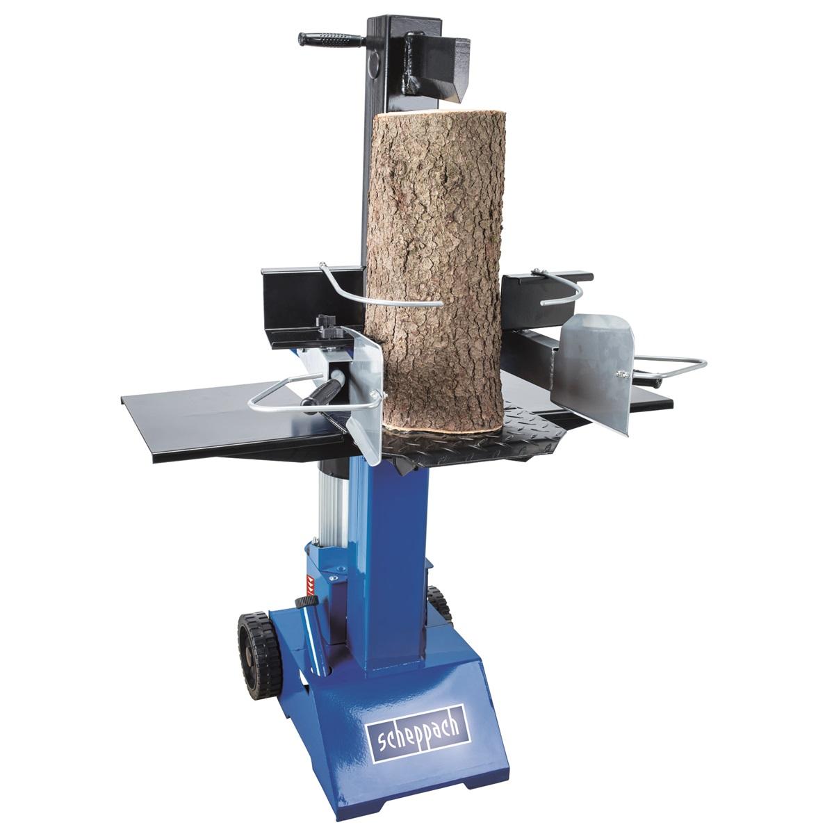 Scheppach HL 810 vertikální štípač na dřevo 8t (400 V) + servis EXTRA