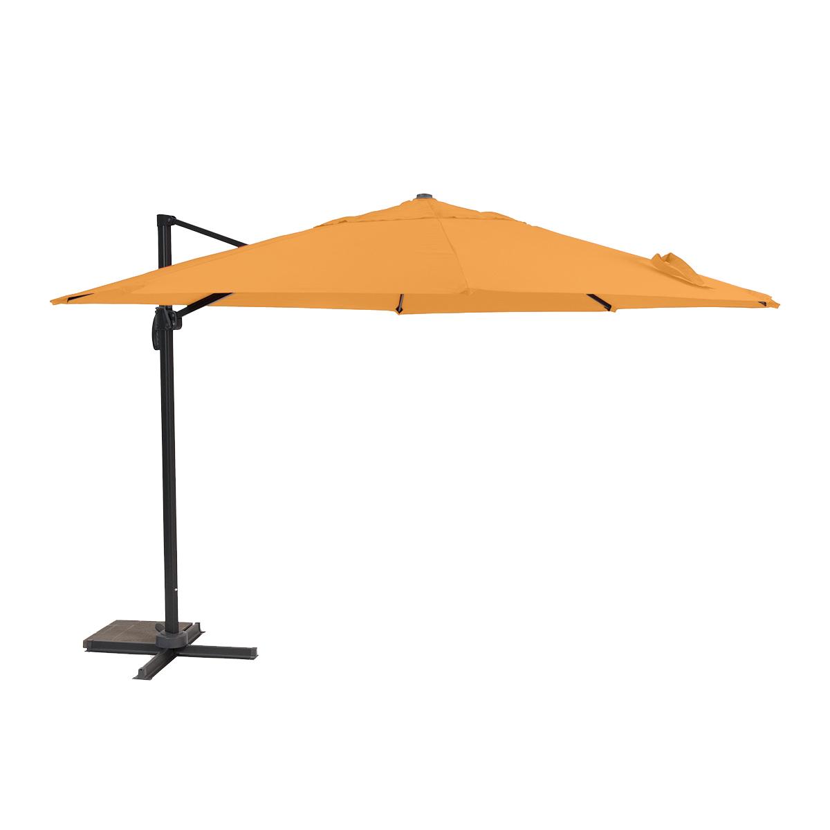 Creador Roma boční slunečník 3,5 m (oranžový)